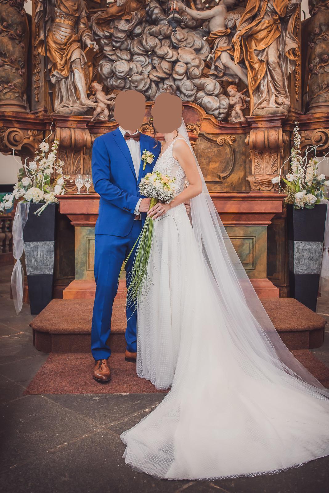 luxusní svatební šaty - Obrázek č. 1