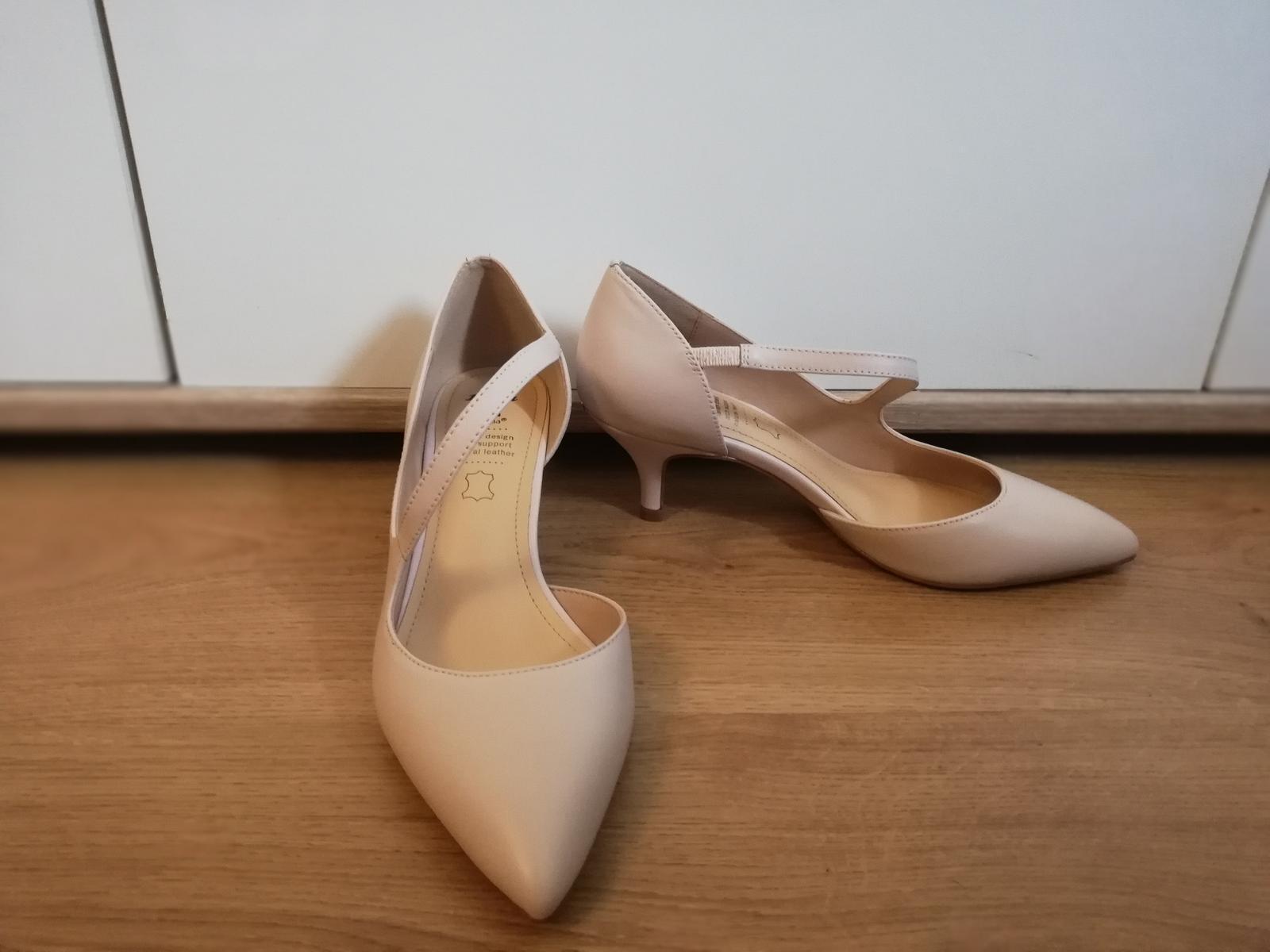 Svatební/polečenské boty - Obrázek č. 1