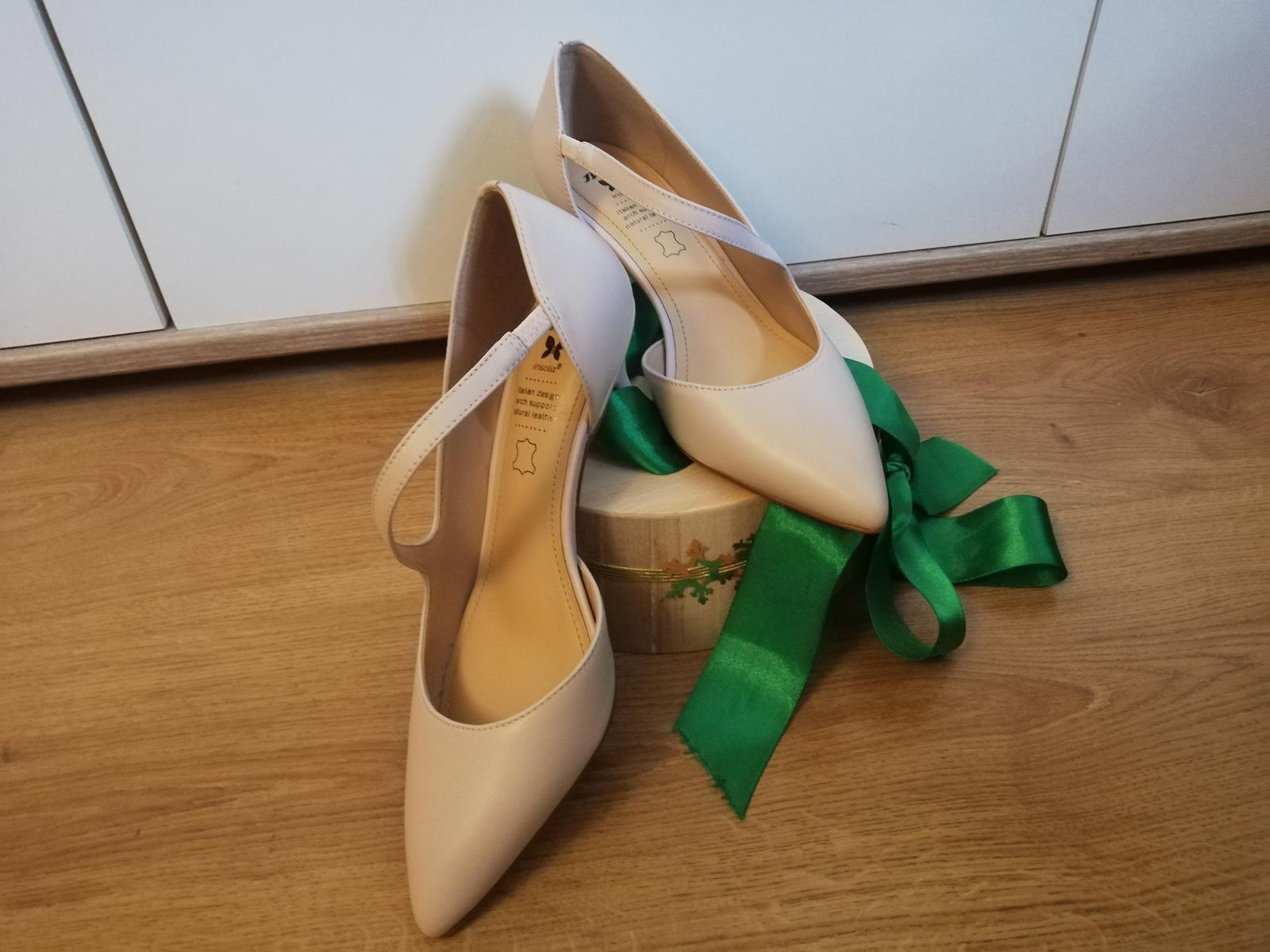 Svatební/polečenské boty - Obrázek č. 2