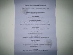 menu od Lemonade