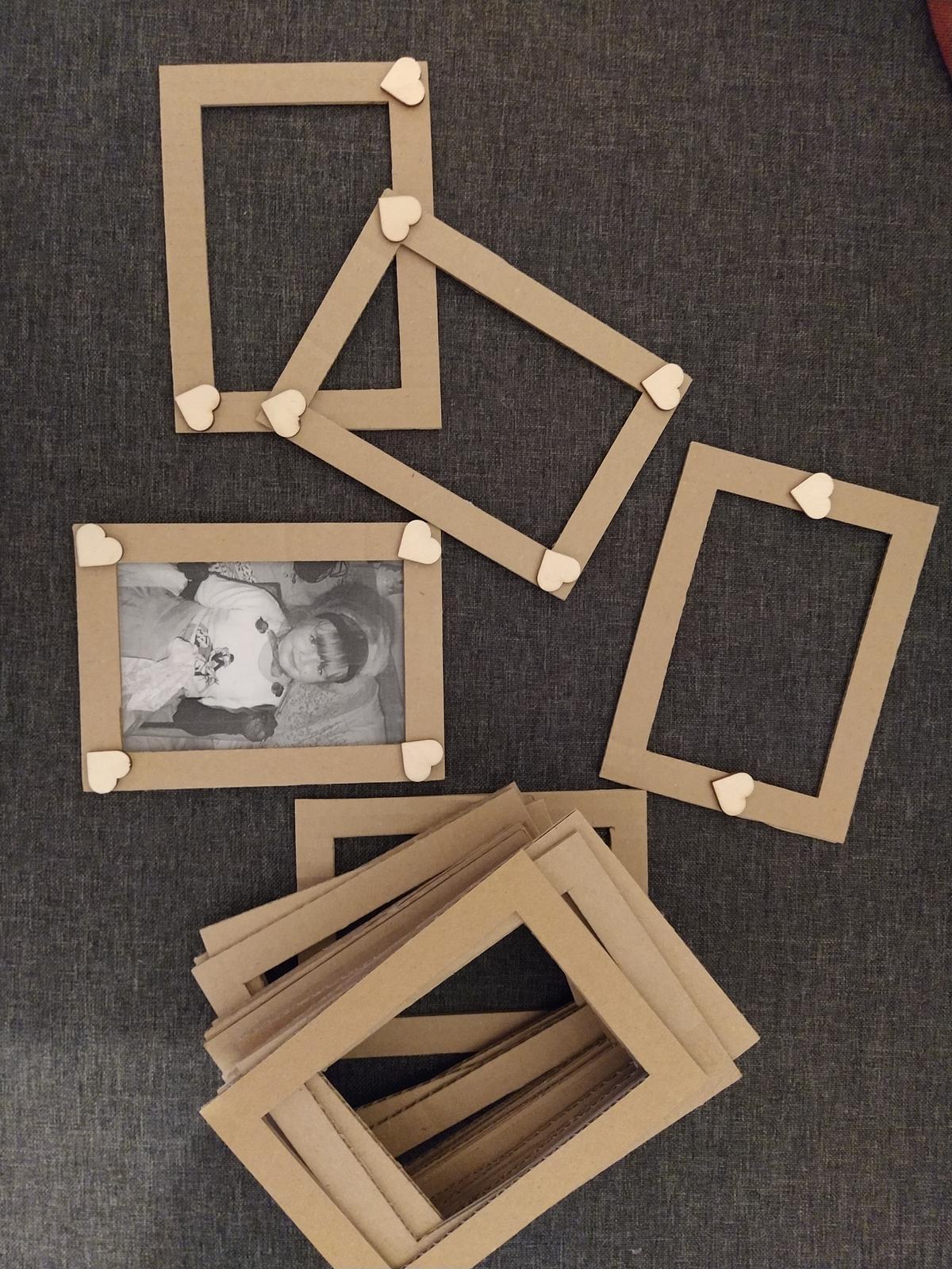 Kartonové fotorámečky - Obrázek č. 1