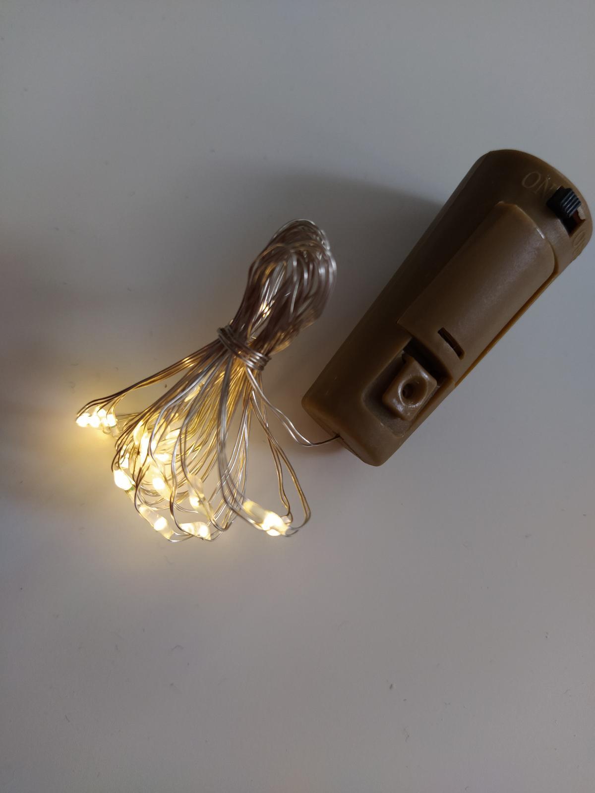 Světýlka se zátkou do lahví - Obrázek č. 1