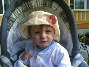 Moje malá neteřinka Verunka - nejmladší účastník svatby