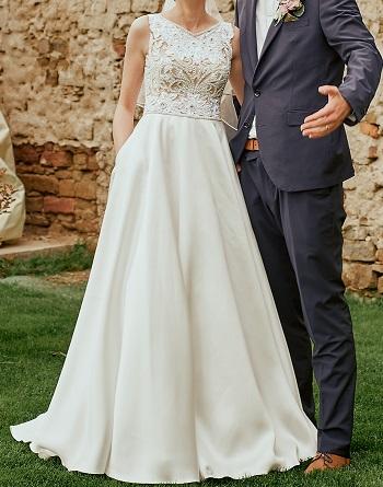 Svadobné šaty Elena Morar - Obrázok č. 4
