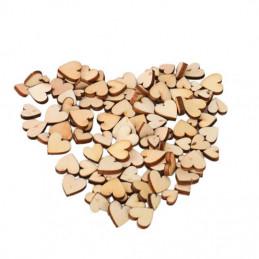 Dřevěnná mini srdíčka - Obrázek č. 1