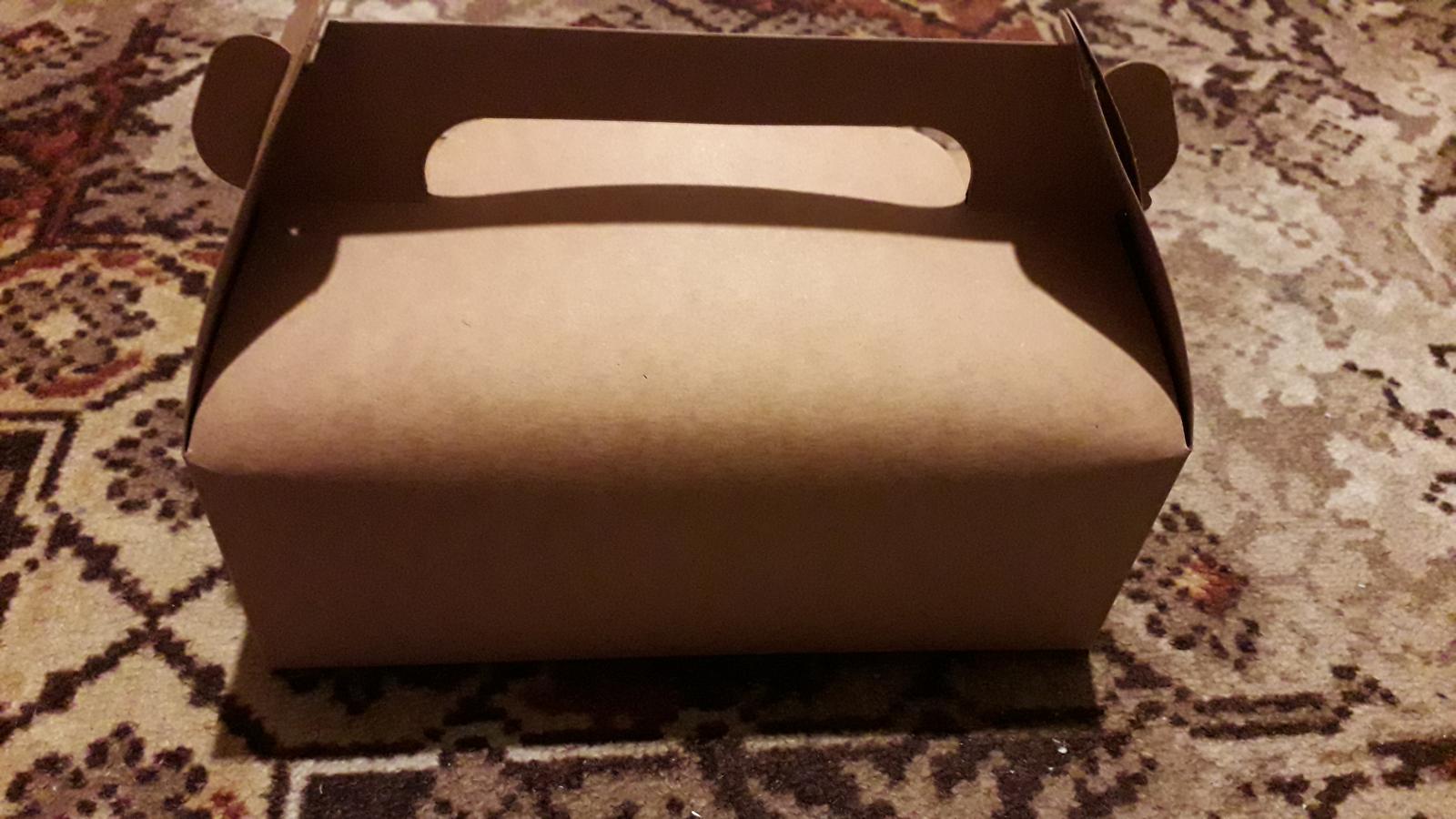 Rustikální krabičky na koláčky, cukroví - Obrázek č. 1