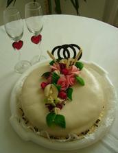 Malý vzorek svatebního dortíků - mooooc dobrý