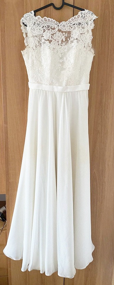 Krásné svatební šaty barvy ivory - Obrázek č. 1