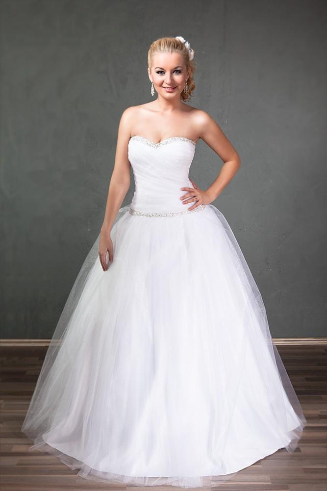 Výpredaj svadobných šiat - Obrázok č. 1