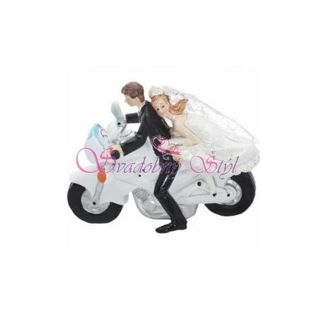 Figúrka na tortu motorkár - Obrázok č. 1