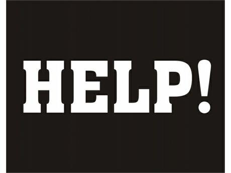 Nálepky na topánky HELP - Obrázok č. 1