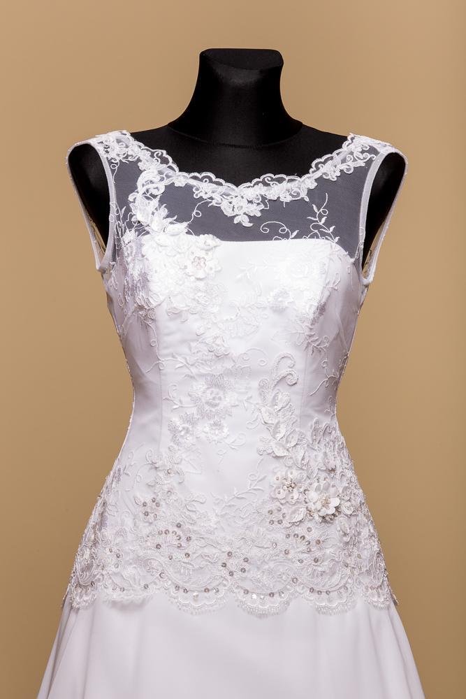 Svadobné šaty Vanesa II - Obrázok č. 2