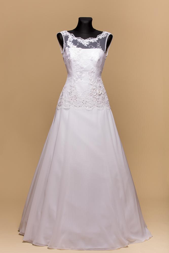 Svadobné šaty Vanesa II - Obrázok č. 1