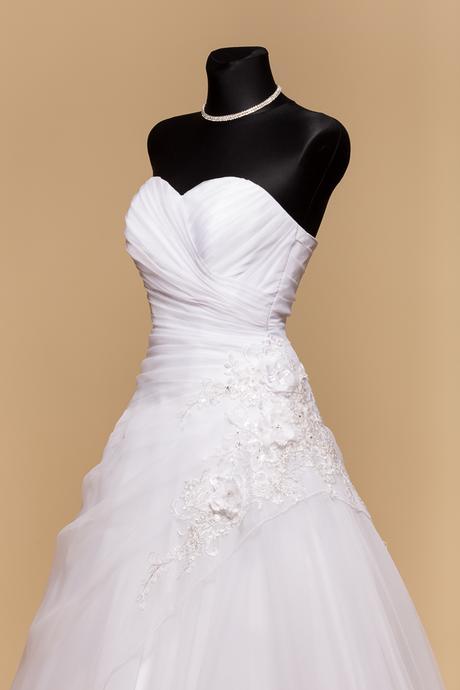 Svadobné šaty Marlen ihneď k odberu - Obrázok č. 2