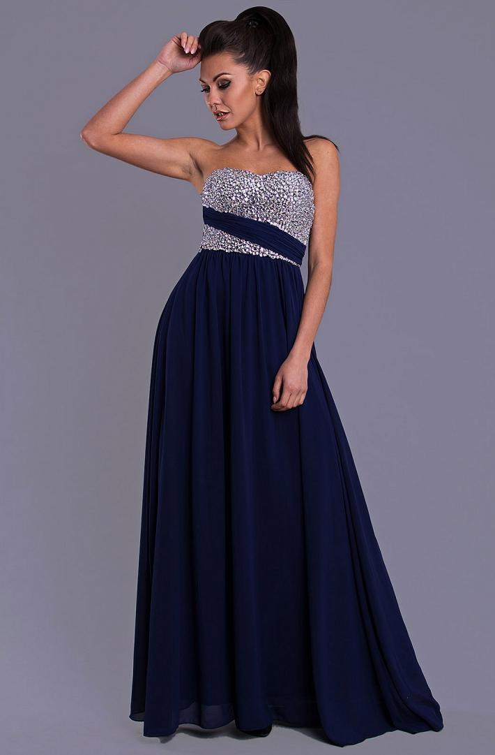 Spoločenské šaty 7816 - Obrázok č. 1