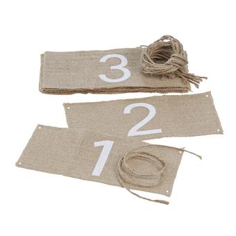 Vintage označenia stolov - Obrázok č. 2