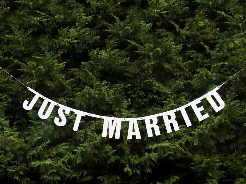 Girlanda Just Married - Obrázok č. 2