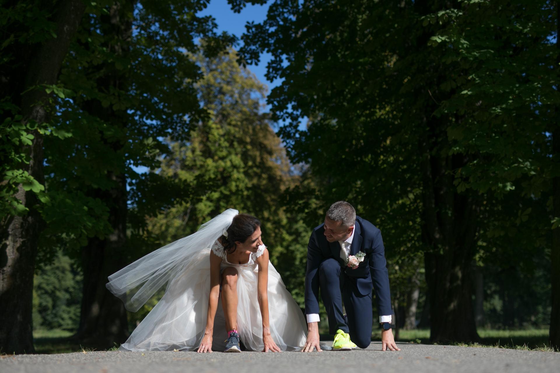 Naša svadba - kedže sme bežci, máme pár takých tématických