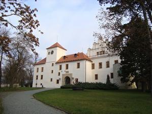 zámek v Blansku