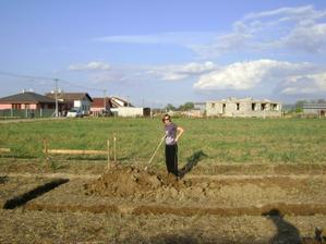 vlastnorucne kopanie -oktober 2009