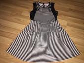 čiernobiele šaty Primark, velk. 140/146, 140