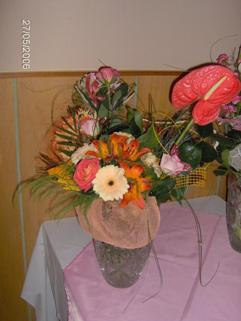 Martina Mojtová{{_AND_}}Anton Adamec - darované kvety