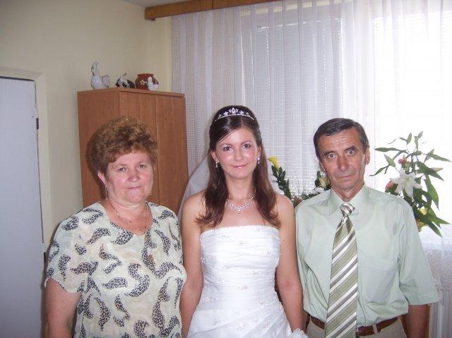 Katka{{_AND_}}Slavko - s rodicmi