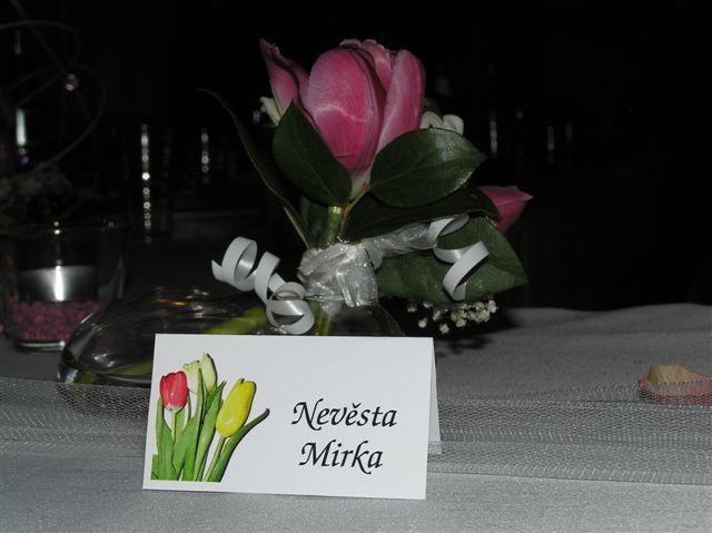 Mirka{{_AND_}}Jirka - jmenovka v akci :-)