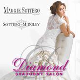 """Na Váš veľký deň """"D"""" Vám požičiame svadobné šaty svetoznámych a neprehliadnuteľných značiek MAGGIE SOTTERO a SOTERRO&MIDGLEY."""