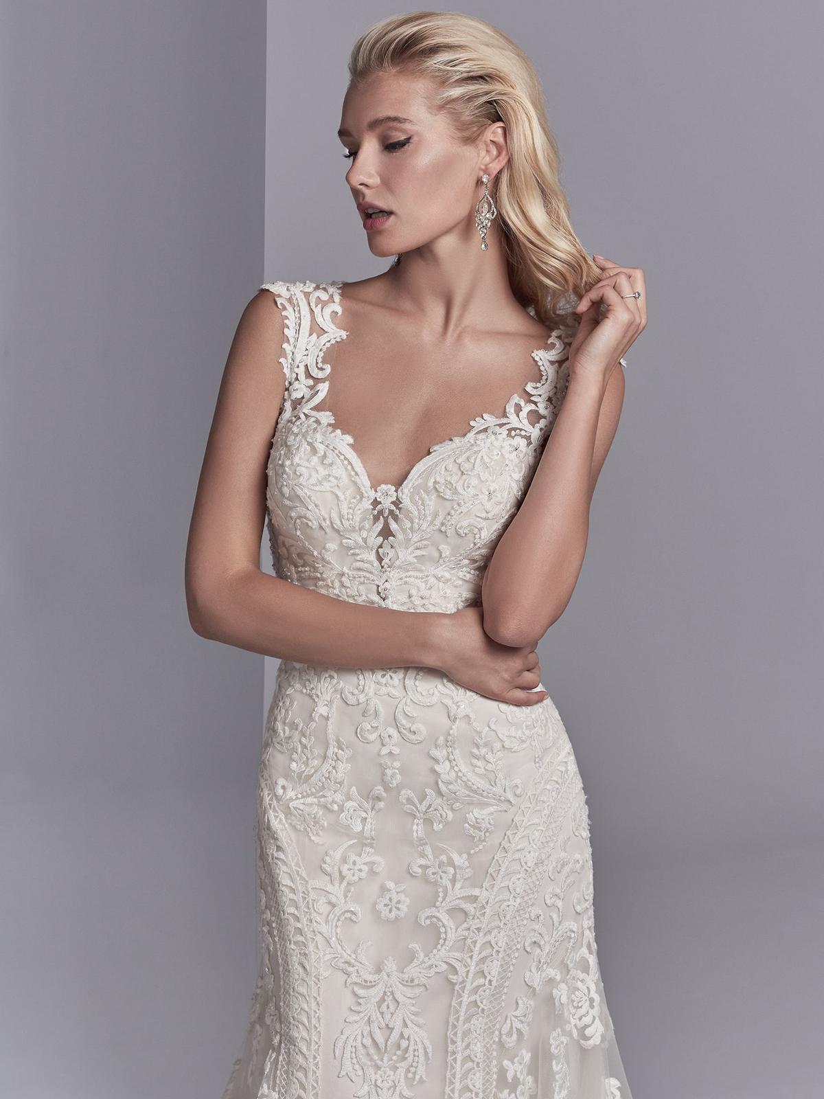 Nový svadobný model ♥CHANNING ROSE♥ v Nitre - svadobné šaty CHANNING ROSE