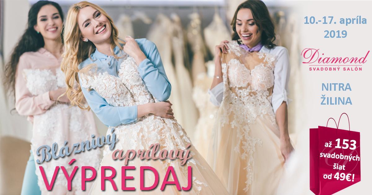 Bláznivý aprílový výpredaj končí už pozajtra! Šaty od 49€! - Ešte 142 svadobných šiat od 49€!