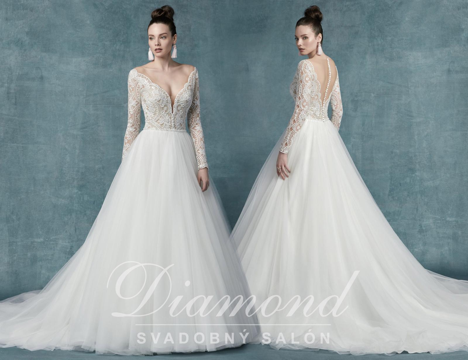 Svadobný salón DIAMOND - MALLORY DAWN (nová kolekcia)