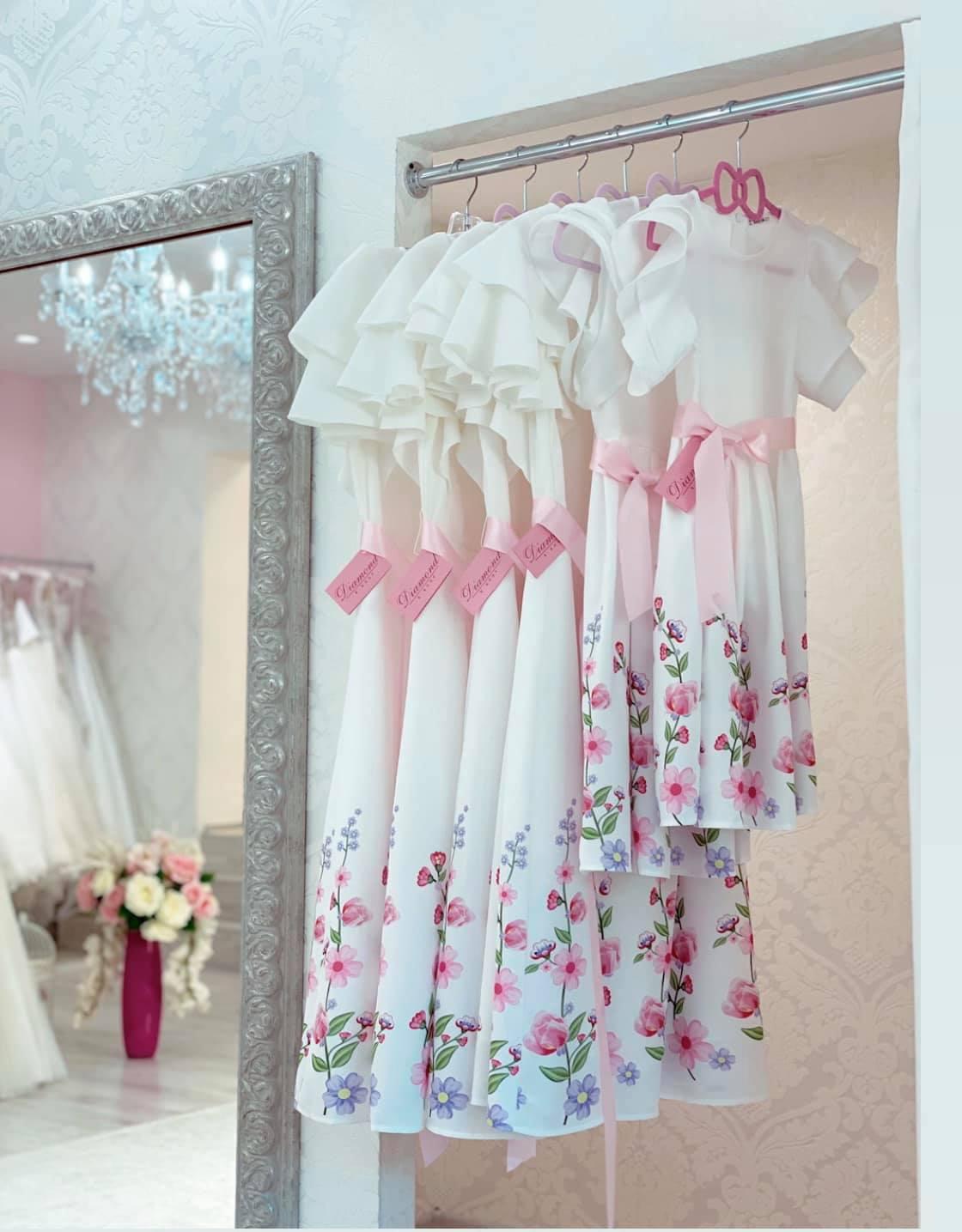 ♥MAMA má EMU♥ kolekcia - Prvá várka šatičiek pre maminky a ich dcérenky alebo pre družičky už je u majiteliek...