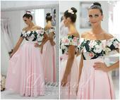 Štýlová saténová púdrovo-ružová sukňa, S