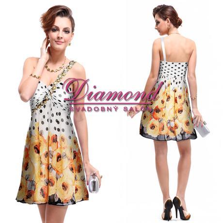 Spoločenské krátke šaty Pat - Obrázok č. 1