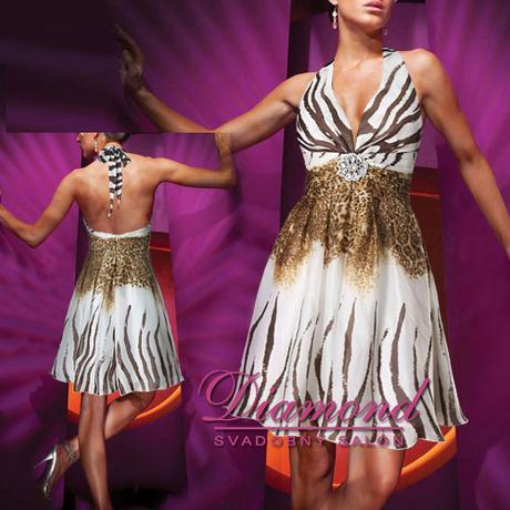 Spoločenské krátke šaty Penelope - Obrázok č. 1