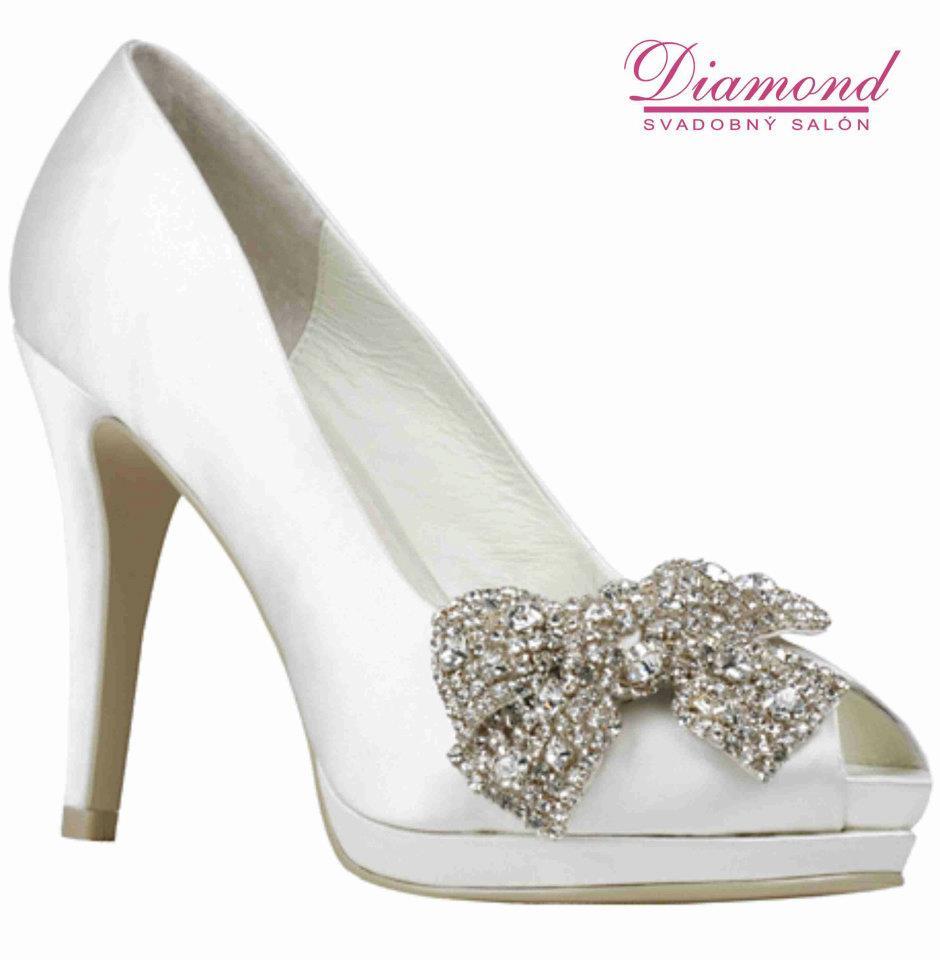 Svadobné topánky Carmen - Obrázok č. 1