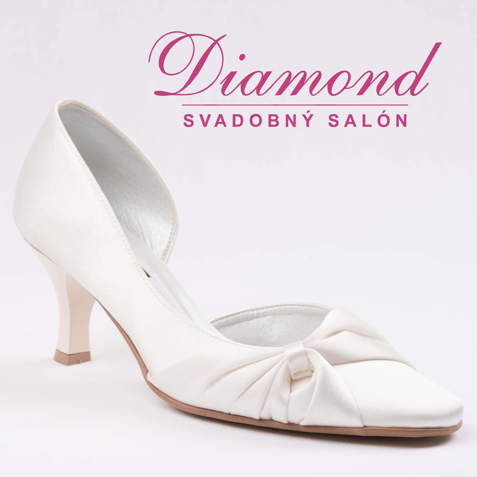 Svadobné topánky 504 - Obrázok č. 1