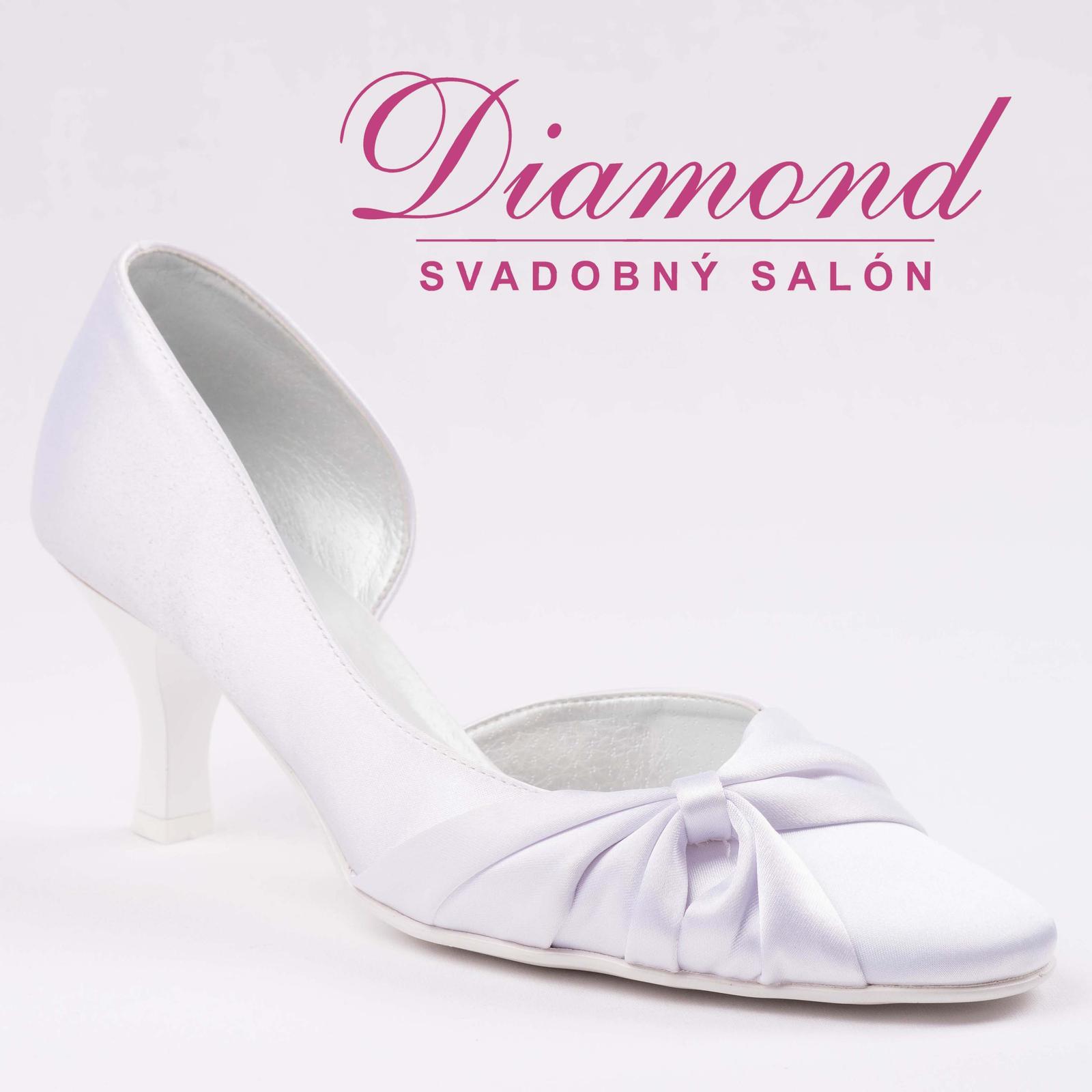 Svadobné topánky 504 - Obrázok č. 2