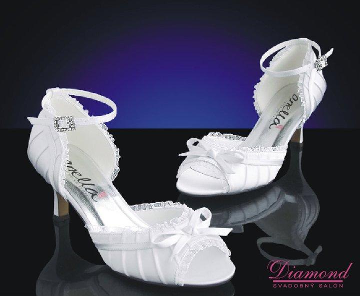Svadobné topánky MM035 - Obrázok č. 1