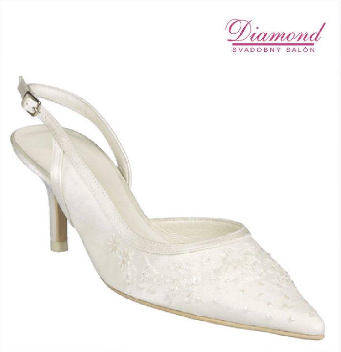 Svadobné topánky Menbur - 3663 - Obrázok č. 1