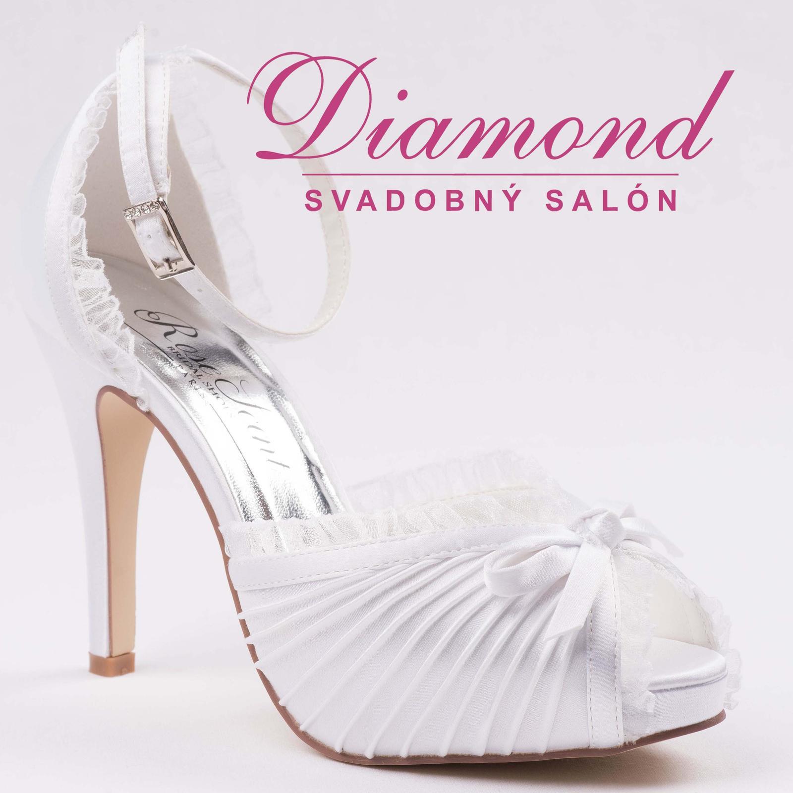 Svadobné topánky Charlotte (RS-0430) - Obrázok č. 1