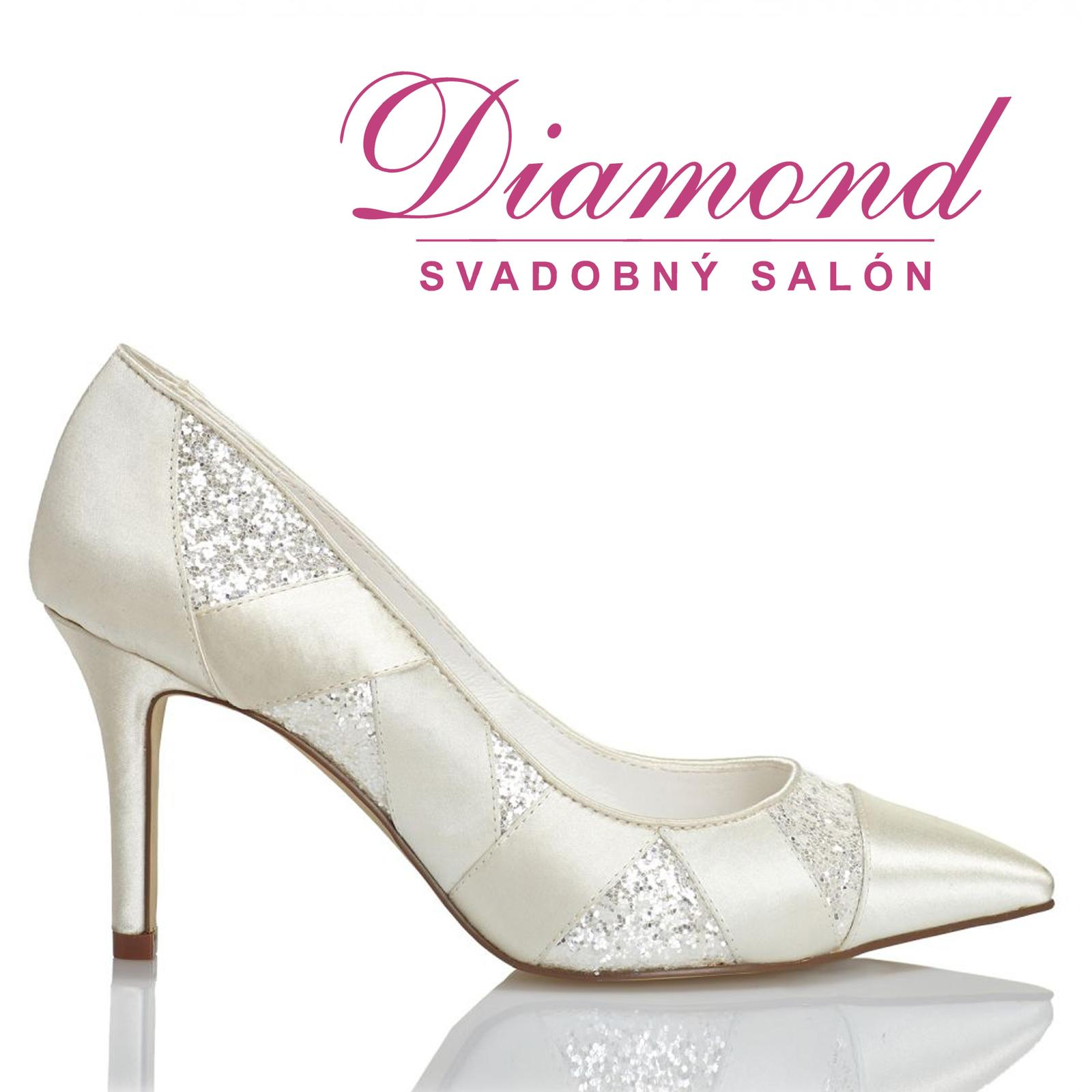 Svadobné topánky Marta (6211) - Obrázok č. 1