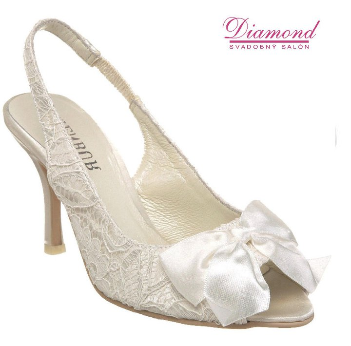 Svadobné topánky Menbur 3841 - Obrázok č. 1