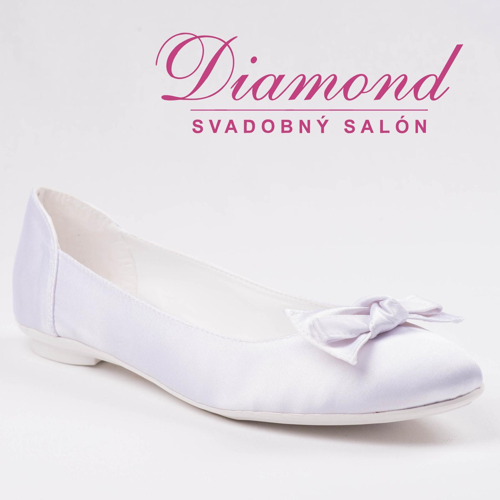 Svadobné topánky Gift - P215 - Obrázok č. 1