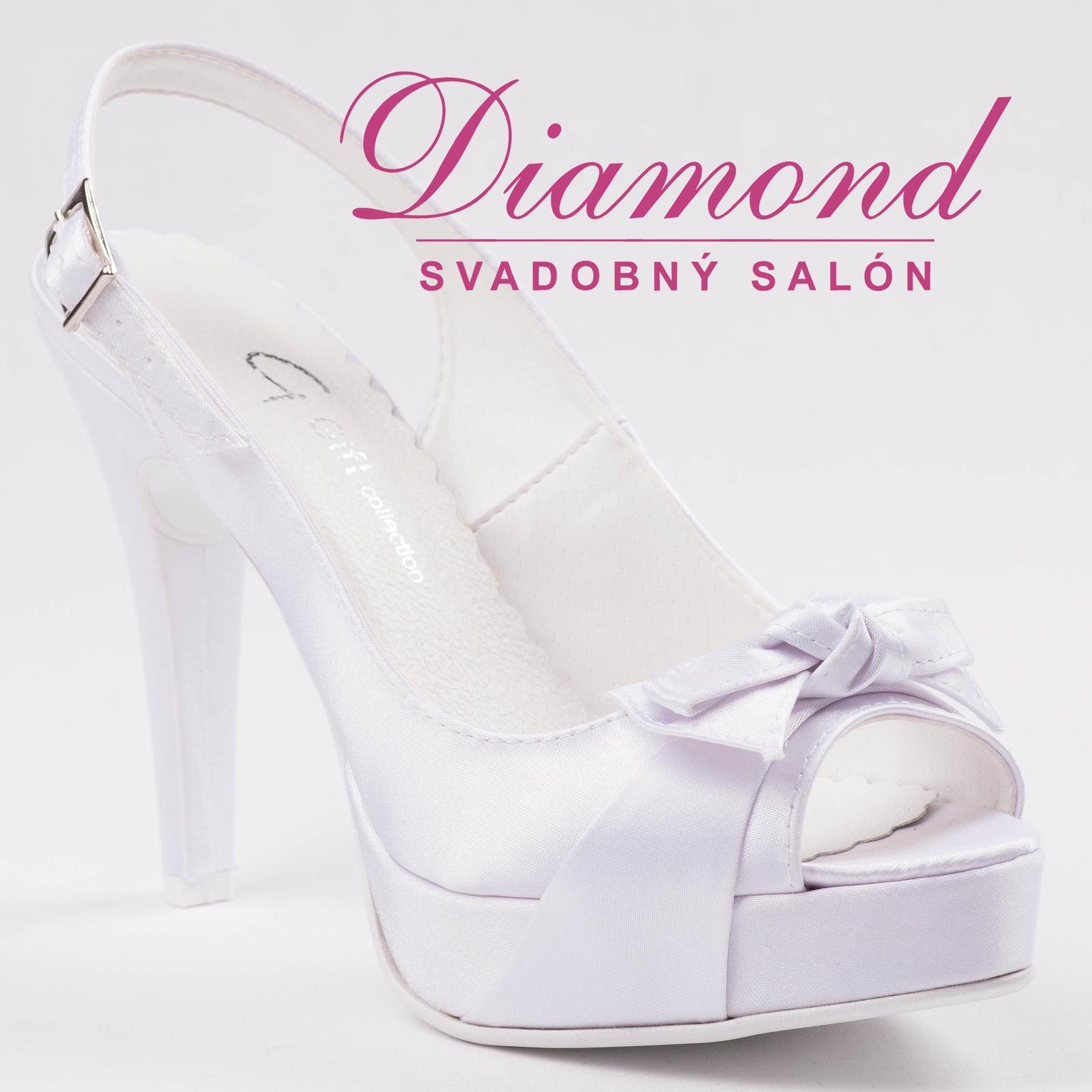 Svadobné topánky Gift - P363 - Obrázok č. 1