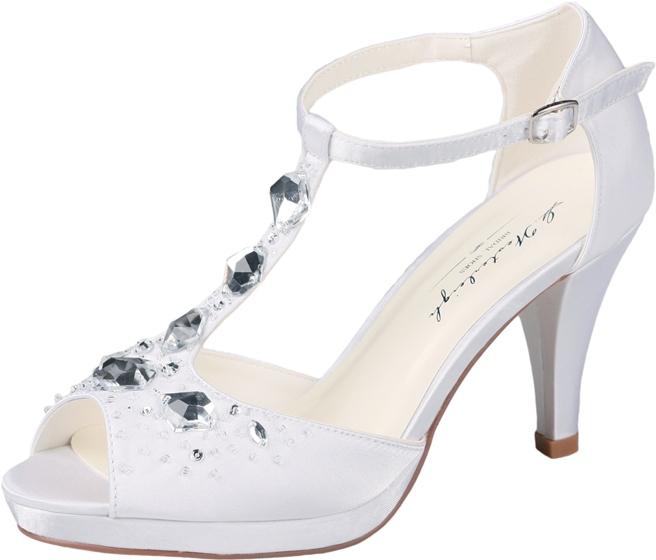 Svadobné topánky Sandra - Obrázok č. 1