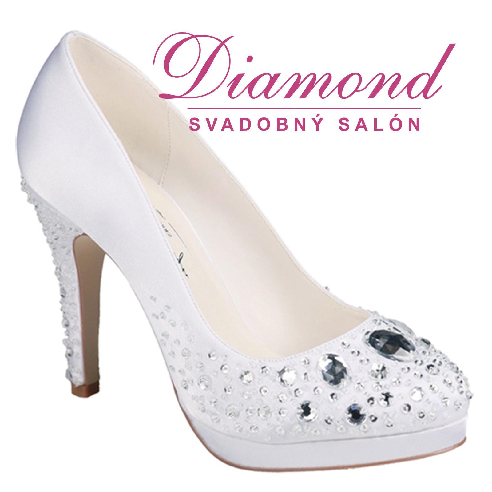 Svadobné topánky Vivienne - Obrázok č. 1