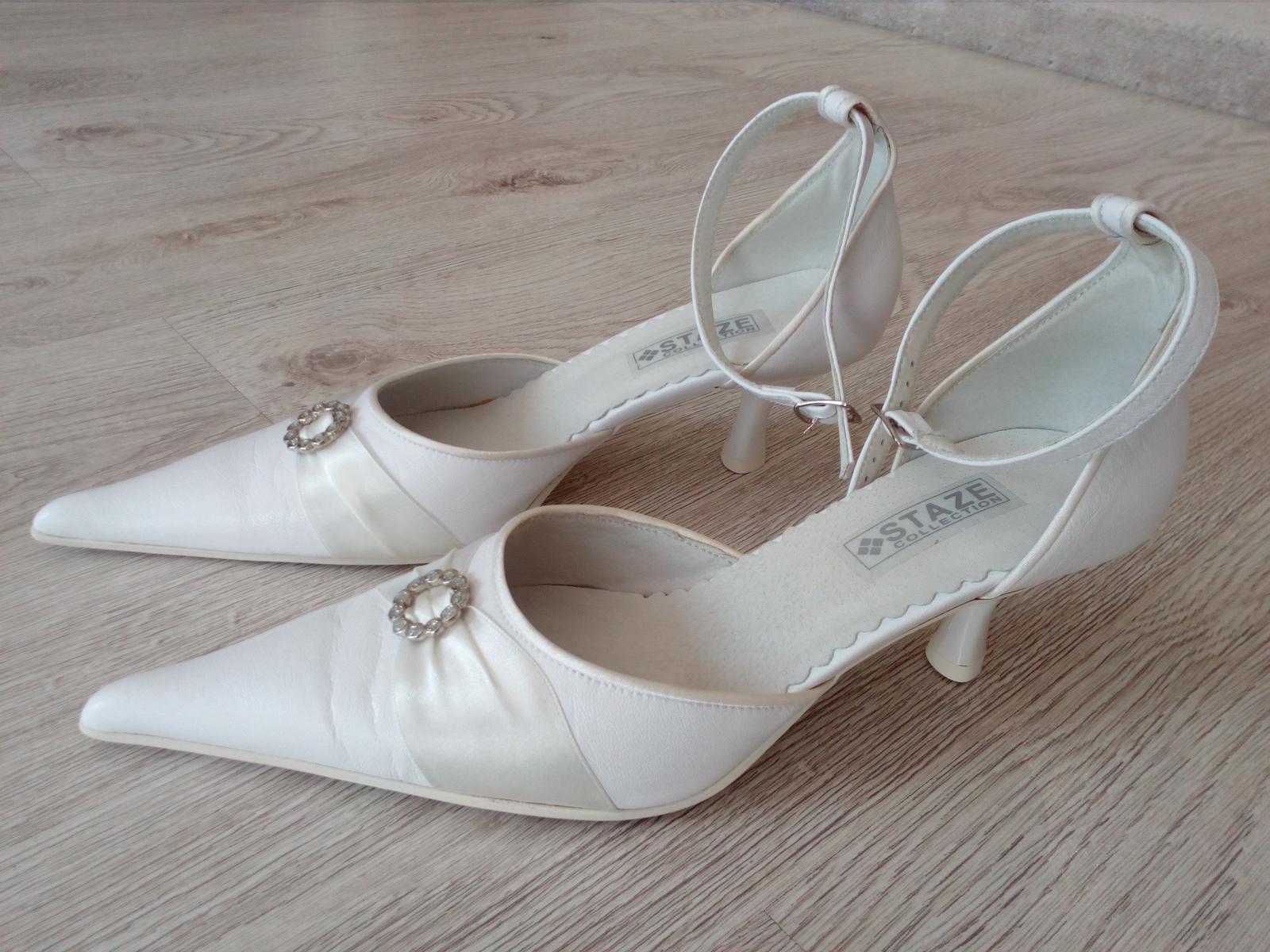 Svadobné topánky 501 - Obrázok č. 1