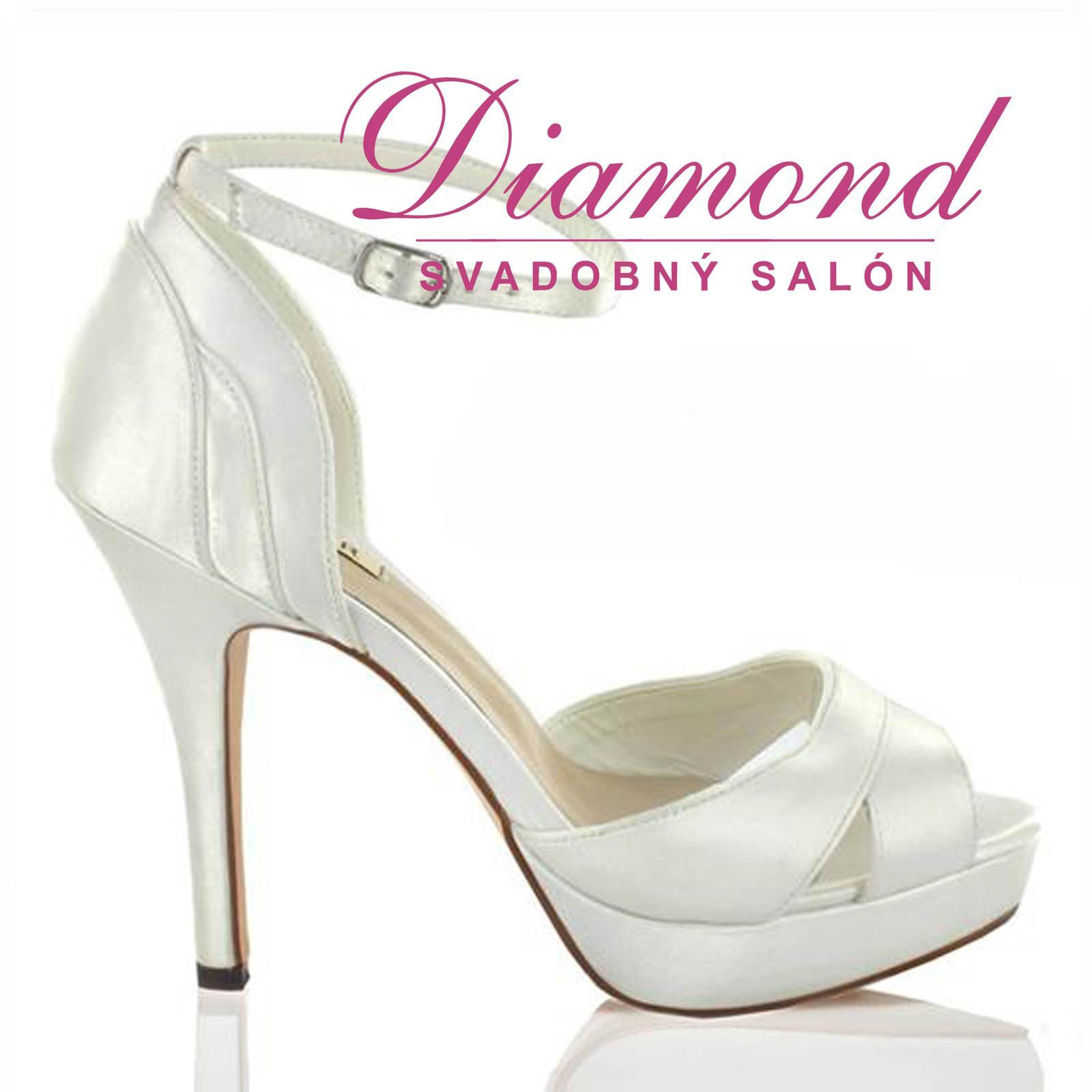 Svadobné topánky Casandra (6971) - Obrázok č. 1
